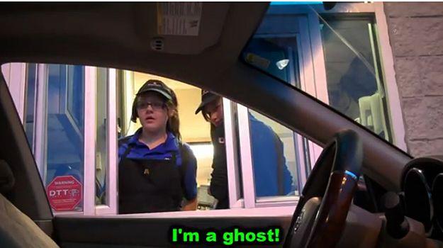 Car Drive Thru With Seat Costume