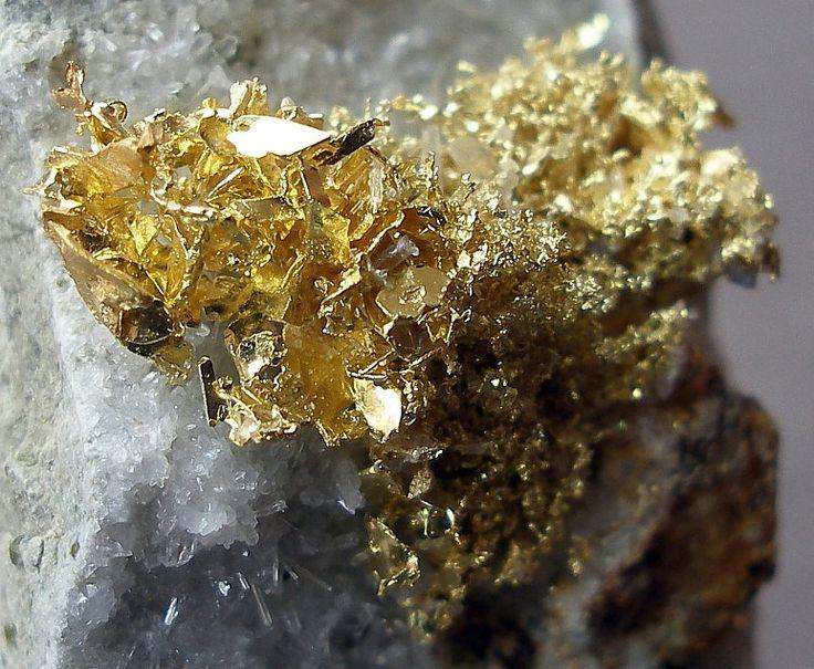 Resultado de imagen de oro mineral