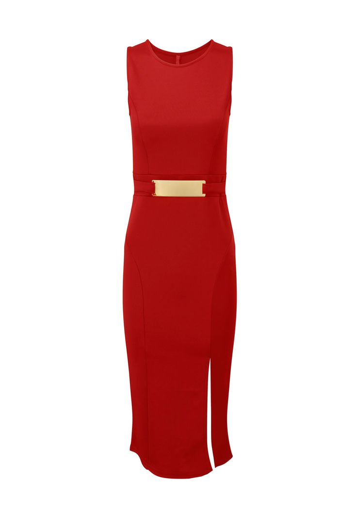 Need a gorgeous dress in your life-get it on OFFER today! x  http://www.prodigyred.com/p3740/carissa-midi-gold-bar-dress/product_info.html?attr_id=17