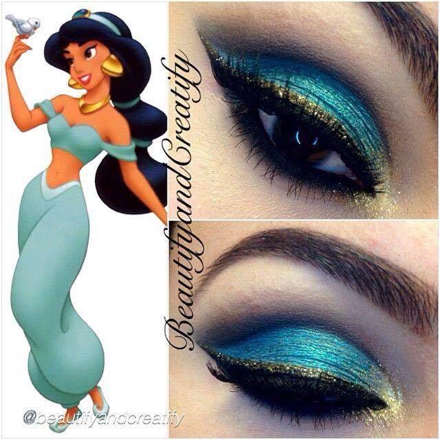 Coisas que Gosto: A maquiagem de Jasmine    muitodiva