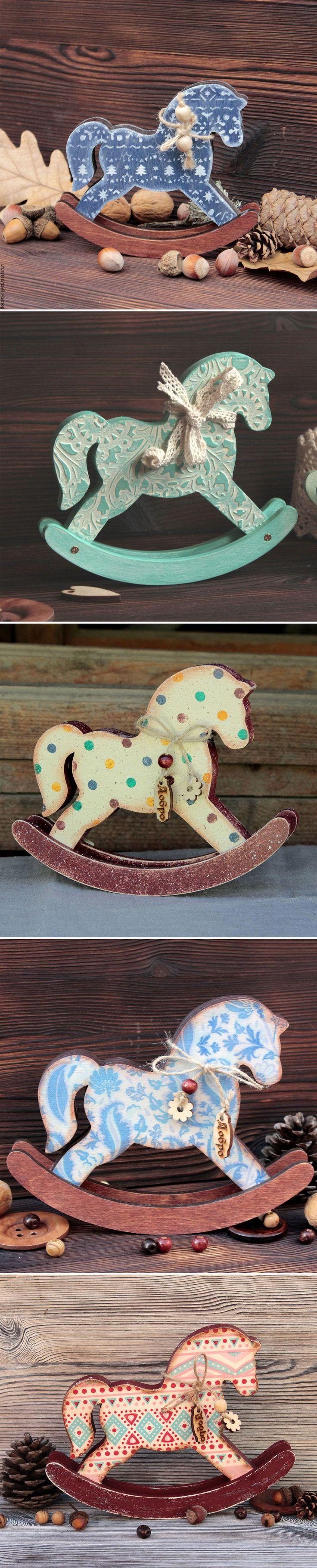 Children Rocking Horse | Игрушечные лошади-качалки — Купить, заказать, лошадь, качалка, лошадь-качалка, дерево, ручная работа