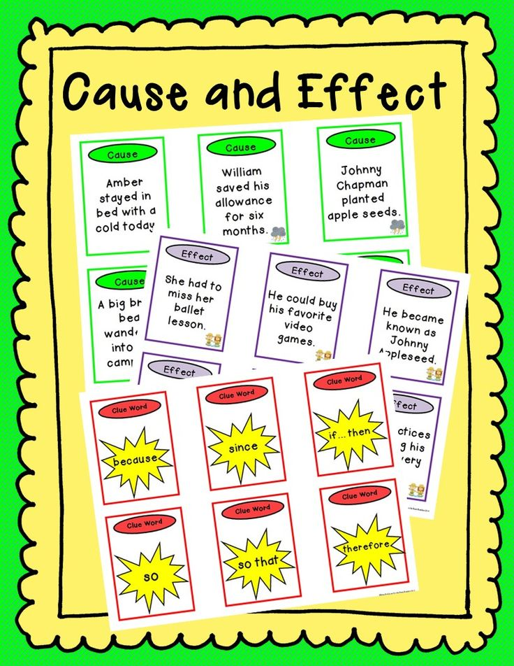 Printable Worksheets cause and effect worksheets for kindergarten : 12 best Cause and Effect images on Pinterest | Reading ...