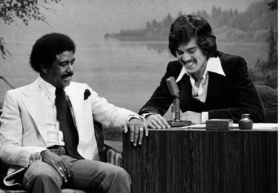 Freddie and Richard Pryor on the Tonight Show 6-21-76.   Two tormented souls who made us laugh. They were good friends. Sorta like Rick James and Charlie Murphy,..lol   Freddie Jr said his Dad knocked Richard out one time. Lmao!