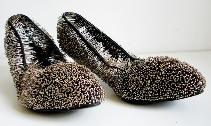 erwina ziomkowska: pinned shoes - designboom
