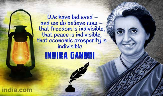 10 Interesting facts about Indira Gandhi