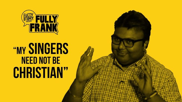 """""""My singers need not be christian"""" 