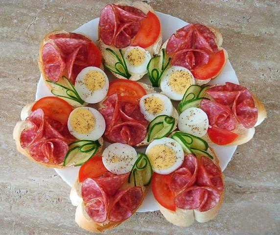 Идеи украшения салатов и паштетов. Специальных инструментов не требуется!