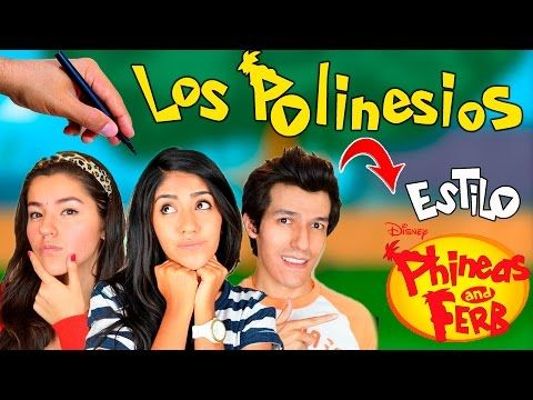 Cómo Dibujar a los Polinesios estilo phineas and ferb│Phineas and Ferb  Videos  - YouTube