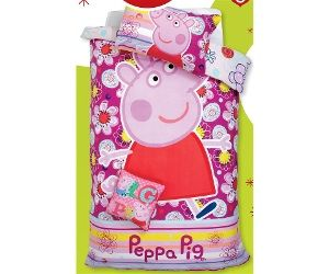Peppa Pig Quilt Cover Set Single