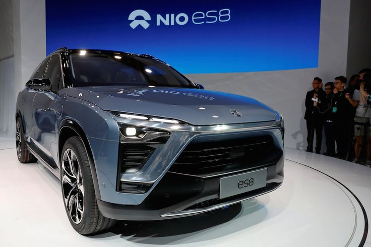 The electric SUV seats seven and comes with all-wheel drive, but Nio has yet to disclose any specs like horsepower, acceleration, or range. The startup said it will be priced in the same range as a premium car.