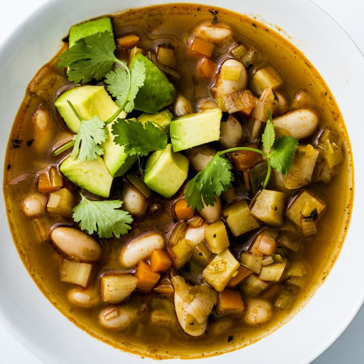 White Bean Chili with Winter Vegetables | Recipe | Winter ...