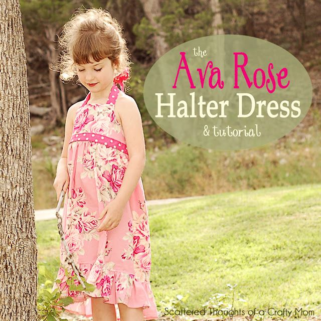 Halter Dress: Crafty Mom, Kids Clothes, Dress Tutorials, Sewing Projects, Free Pattern, Halter Dresses