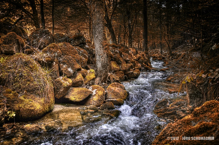 Geroldsauer Wasserfälle, Baden-Baden, Deutschland  #Fotografie #Photography #HDR #Bach #Bildbearbeitung #Fotomontage #Nikon #D300s #Bach  Copyright 2012 · Jörg Schumacher — Geroldsauer Wasserfälle.