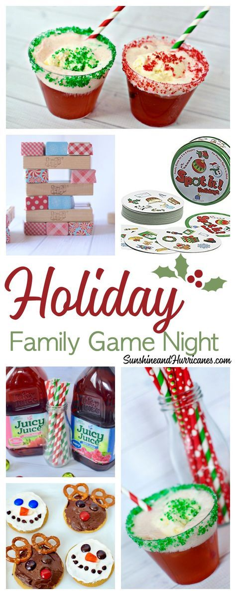 Put on your Christmas PJs, have your holiday playlist ready and grab these great family Christmas games for a holiday family game night! Make memories, not plans.