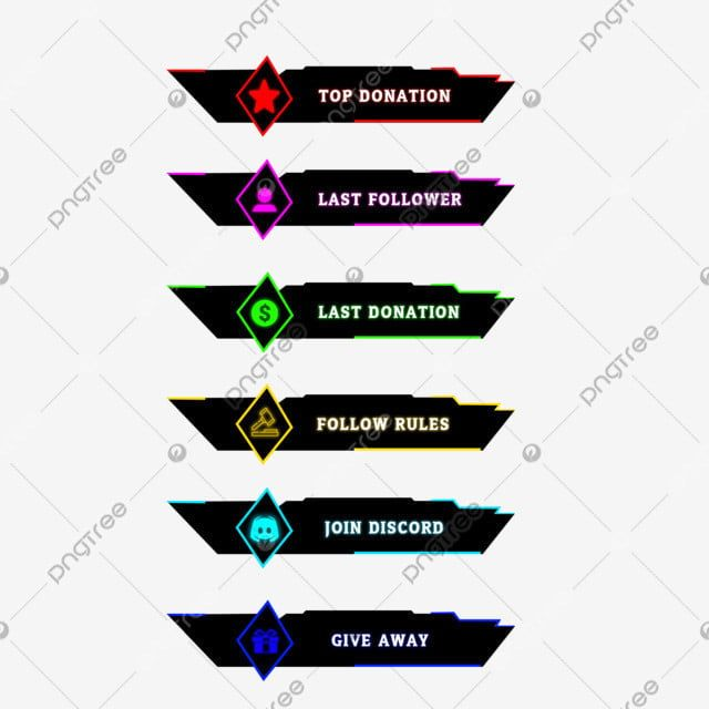 Twitch Stream Overlay Alert Buttons Streaming Overlay Face Cam Stream Png Transparent Clipart Image And Psd File For Free Download Overlays Transparent Overlays Streaming