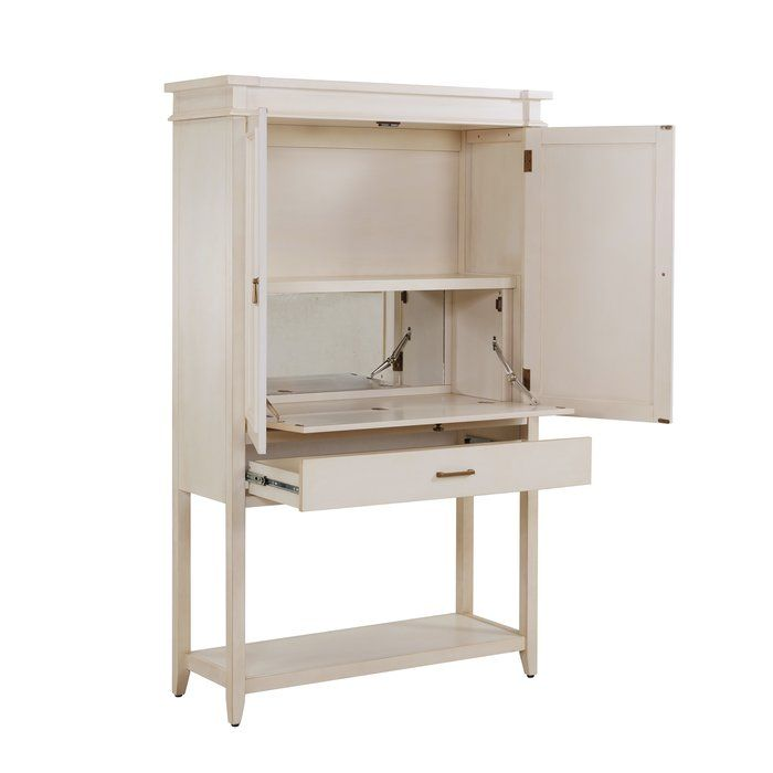Caseareo Fold Out Bar Cabinet With Images Bar Cabinet Cabinet Adjustable Shelving