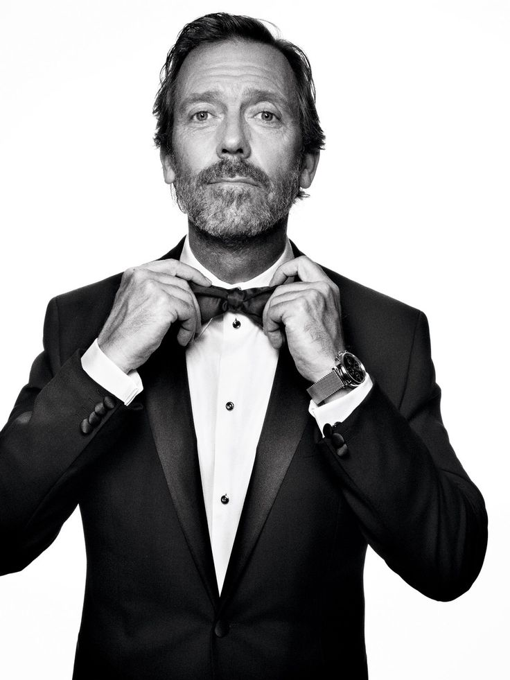 Hugh Laurie - Otoño de Moño #otonodemono #redlibelula #bowtiesarecool #bowtie