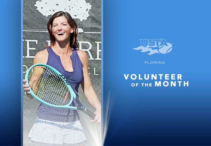 Fort Myers Janet Choisnet Named Usta Florida Tennis Volunteer Of The Month In 2020 Tennis Fort Myers Play Tennis