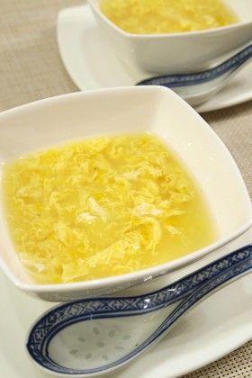 簡単中華♪卵とコーンの中華スープ by きちりーもんじゃ [クックパッド ...