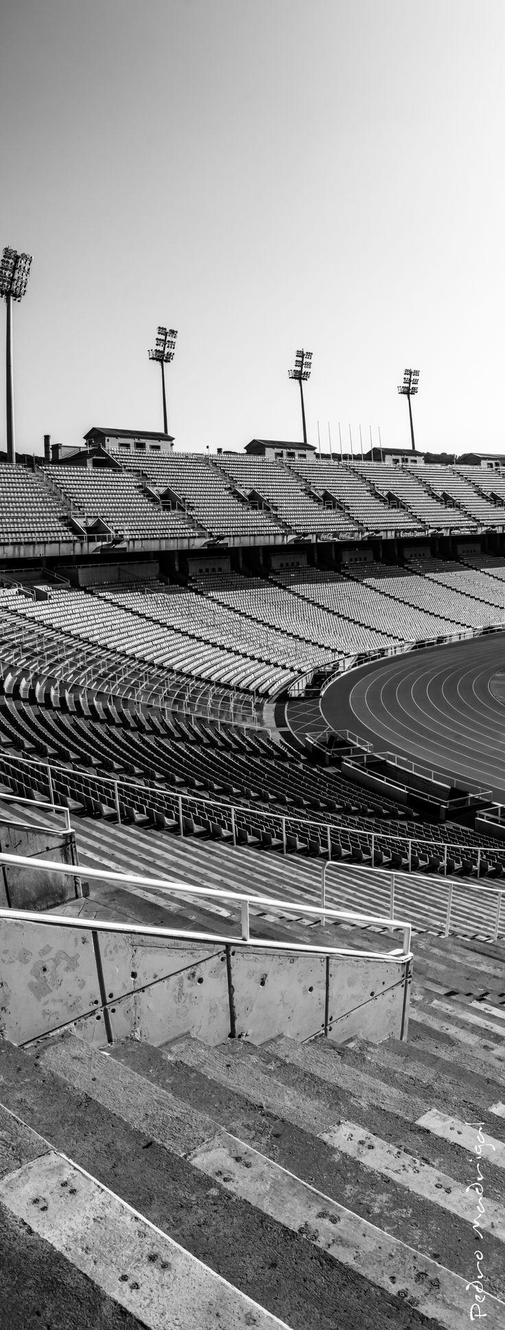 Vertical del «Estadi Olímpic Lluís Companys» [Estadio Olímpico Lluís Companys]