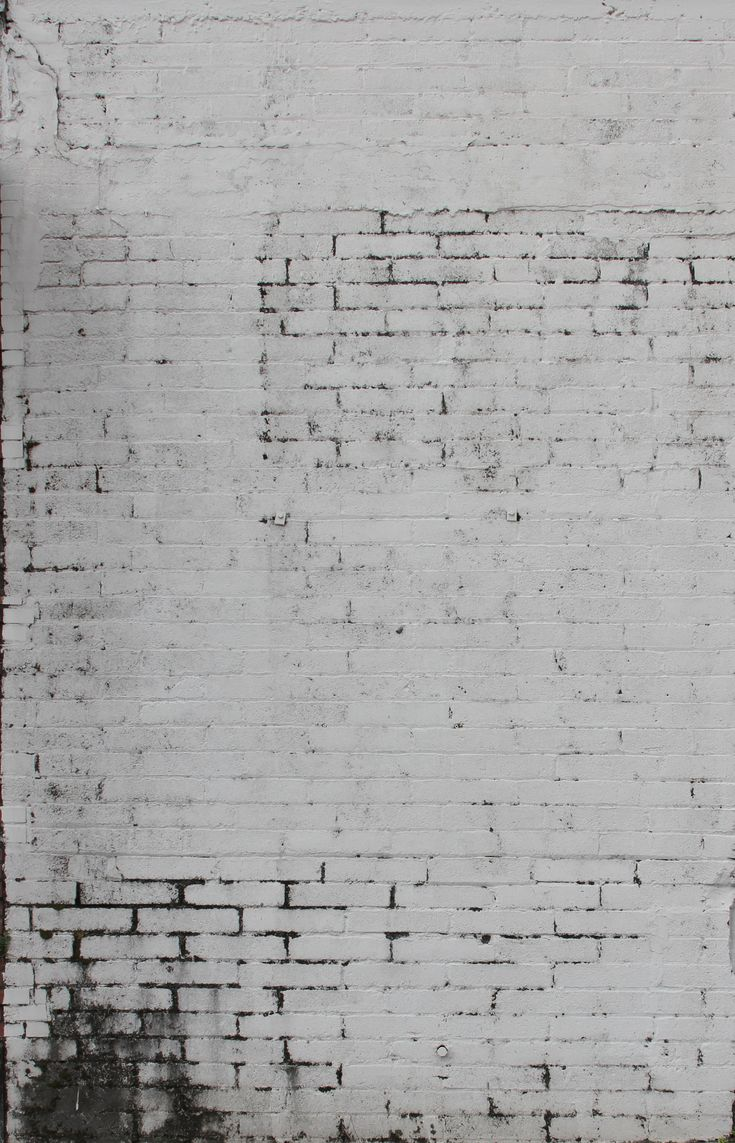 Dress up walls with textured paintable wallpaper called anaglypta - Grungy White Brick Wall Texture