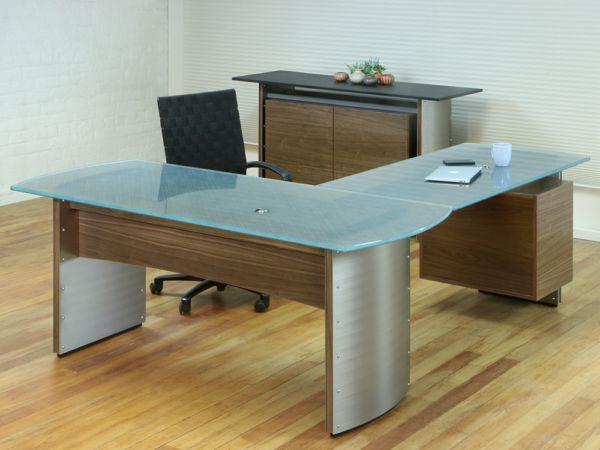 Glass L Shaped Desk L Shaped Desk L Shaped Corner Desk Office Furniture Modern