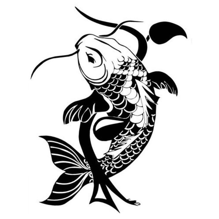 15 best stencil images on pinterest arabesque for Koi fish stencil