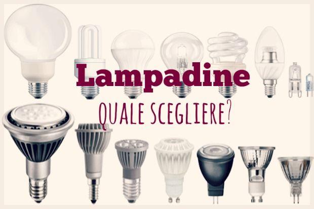 QUALE LAMPADINA SCEGLIERE? ALOGENA, LED, CFL, O A
