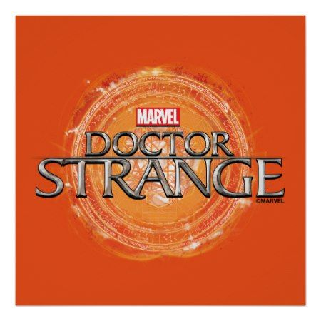 Doctor Strange Movie Logo Poster - click to get yours right now!