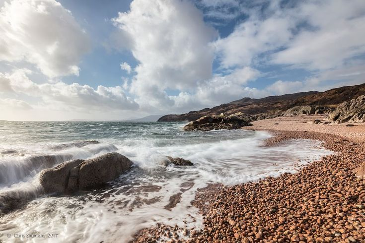 Spring Tideline Ardtornish by Chris Simmons Photography