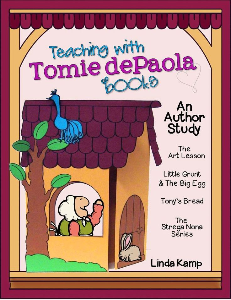 Around the Kampfire: Teaching With Tomie dePaola Books Part 3: The Strega Nona Series & A Linky