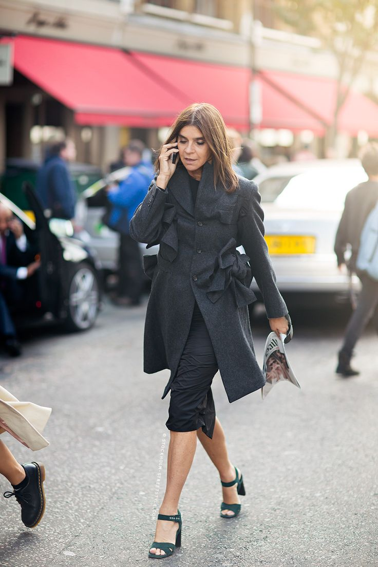 Www Investigates The Appeal Of The French Fashion Editor Outfit Inspirationen Modetrends Und