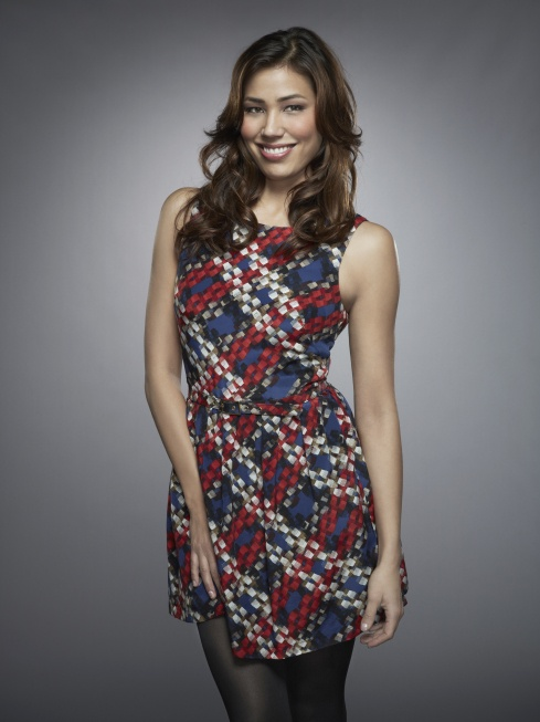 Michaela Conlin as Angela Montenegro in BONES on FOX.