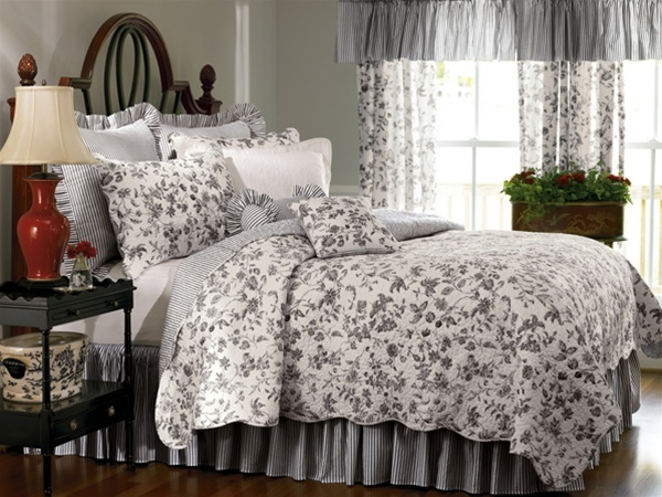 Black Toile Decorating: 1000+ Images About Red And Black Comforter Sets On