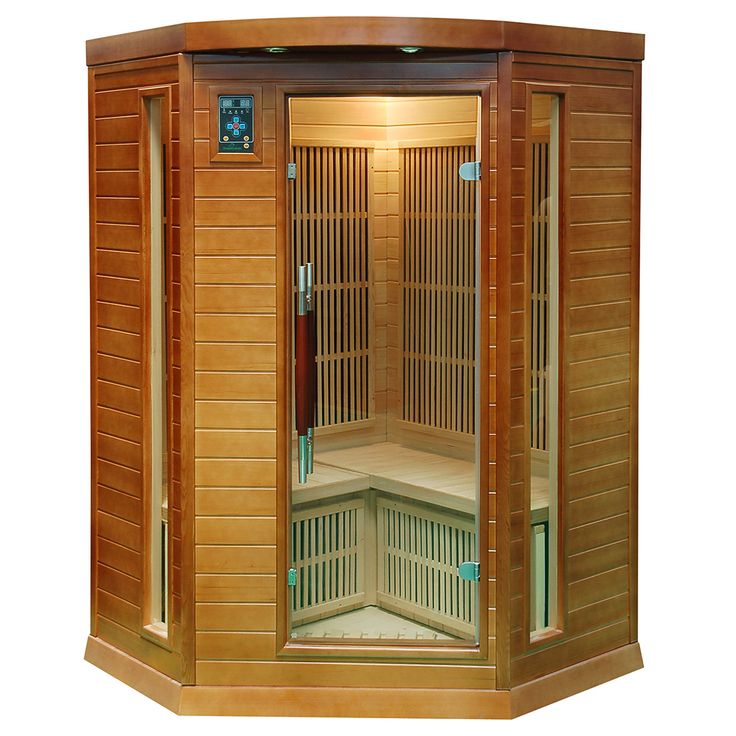 Mała domowa sauna na podczerwień szczególnie dobrze sprawdzi się w niewielkim domu jednorodzinnym...