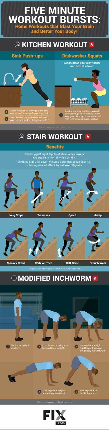 Short and Intense Workout Bursts   Fix.com
