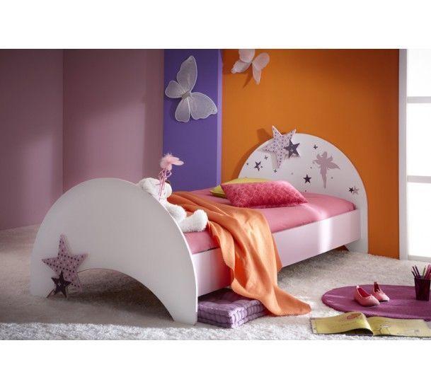 Fee Børneseng - Flot børne-prinsessseng - 90x190