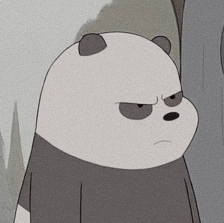 smilemore panda angry happy emotion life smilemore