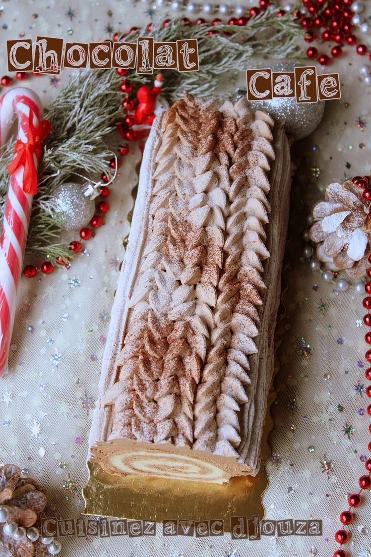 Buche de Noël facile pour débutant chocolat café