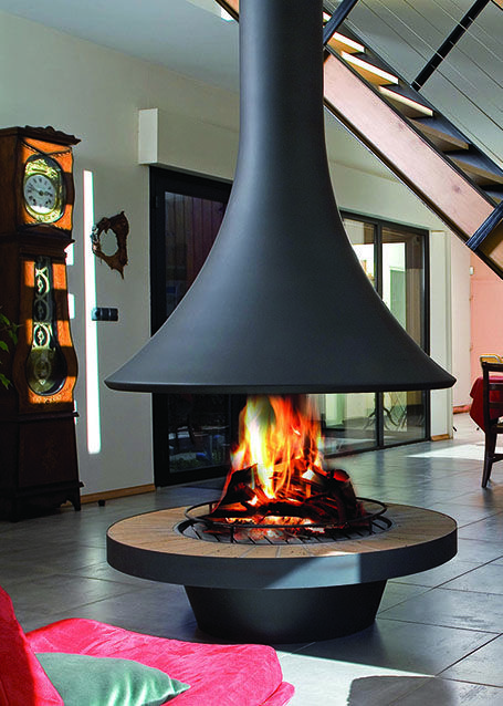 6613 best images about fireplace in the living room on for Central fireplace