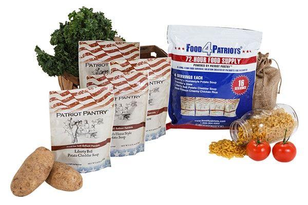 Free Survival Food is Almost Gone… Get this Free Survival Food - 72 Hour Food Kit