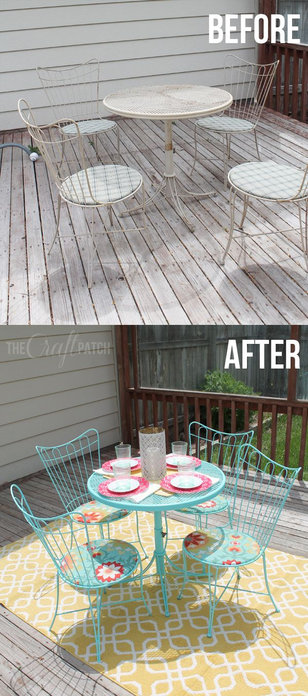 El parche Craft: Amazing Patio Set Transformación