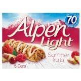 Alpen Light Summer Fruits Bars 6x5x19g - British Essentials - 1