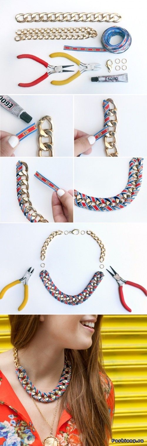 Моя подготовка к лету или новые идеи для Вашего творчества / модны ли браслеты кольчуга