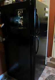 Frugal Ain't Cheap: Painting appliances black