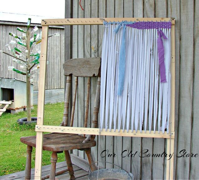 Plans For Rag Rug Loom: The 25+ Best Rug Loom Ideas On Pinterest