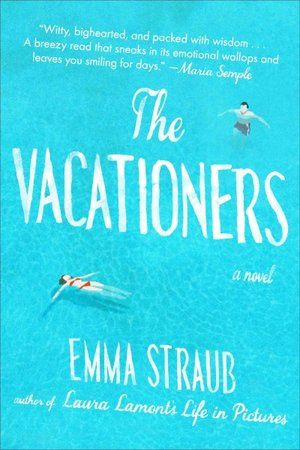 """""""The Vacationers"""" - listened to the audiobook. I really liked it. Good writing and not completely predictable story."""