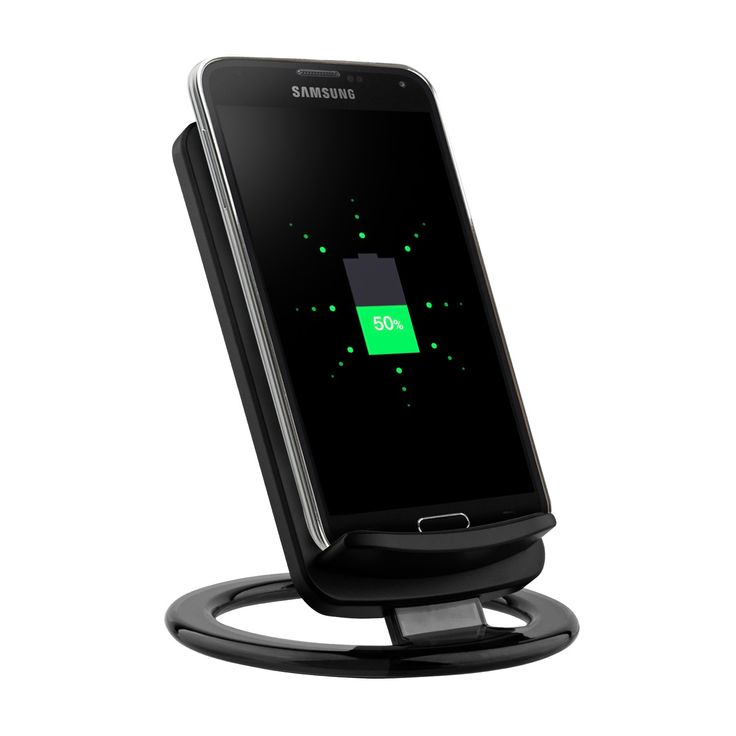The Surgit Wireless Charging Stand is a wireless charger for your smartphone that allows easy access to your phone, so you can enjoy your device while it charges. All you have to do is place your mobile phone on the pad and the green indicator light will turn on to let you know your phone is charging. The Surgit Wireless Charging Stand is compatible with all Samsung, HTC, LG, Google, Nokia, Moto and Blackberry phones with wireless charging capability.* Lightweight design is perfect for home…