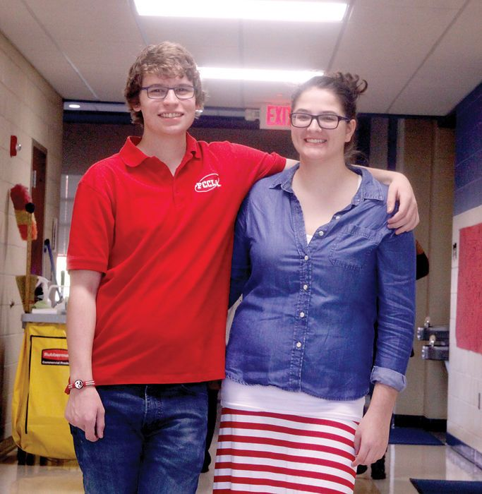 Two East Buchanan High School students, Ally Duff and Seth Adams, participated in the FCCLA National Cluster Meeting held in Denver, Colorado, from Friday, November 4, through Sunday, November 6. This meeting provided FCCLA members with opportunities to compete in career-applicable skill demonstration competitions ranging from interviewing skills and impromptu speaking to technology used in teaching. It also featured youth teams in competition. Adams took first place for East Buchanan in the…