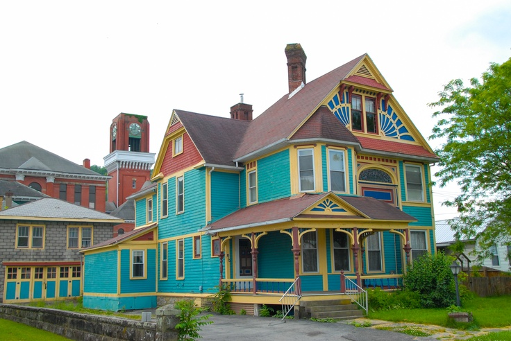 Painted Lady Main Street Mannington Historical Homes